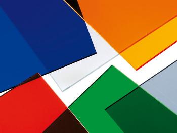 Plexisklo Acrylcolor - akrylátové sklo v barvách