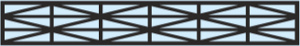 Komůrkový polykarbonát MARLON ST - SX / 7 - struktura
