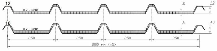 Trapézový panel z polykarbonátu AKRALUX Greaca 5 - data
