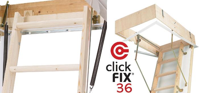 Schody Click Fix 36