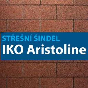 Asfaltový šindel IKO Aristoline - 3Tab