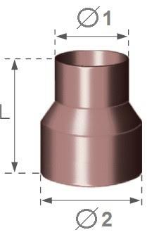 Spojka svodu PVC