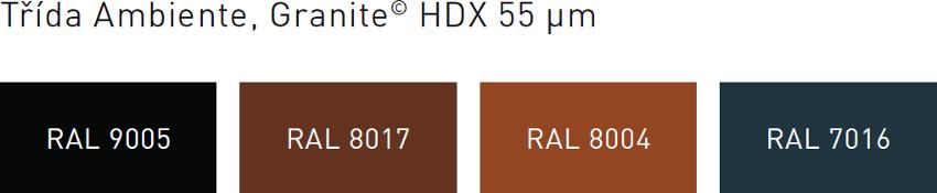 Povrchová úprava Clara Ambiente Granite hdx
