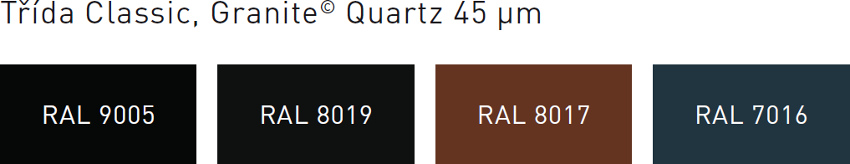 Barvy krytin Clara Granite Quartz
