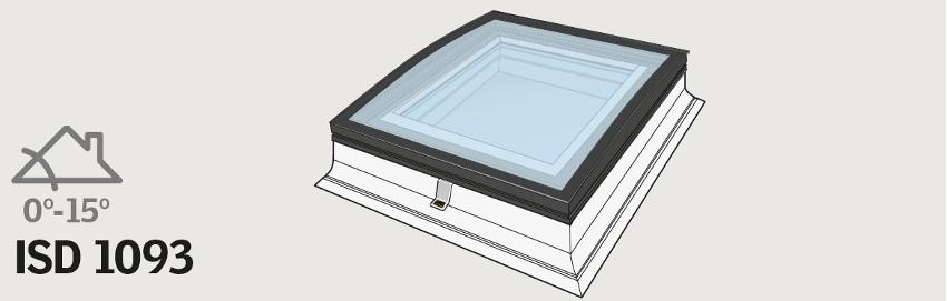 VELUX ISD - zaoblené sklo