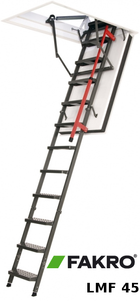 Skládací protipožární půdní schody LMF 45