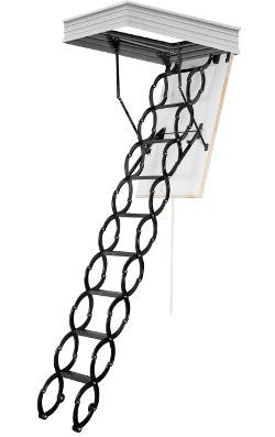 Skládací půdní schody OMAN Flex Termo Metal BOX