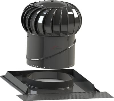 Ventilačná turbína Lomanco BIB 12 - set šikmé střechy