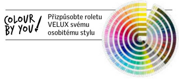 VELUX - rolety a žaluzie colour by you