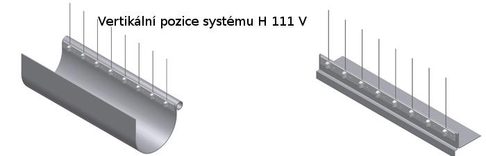 Ochranný systém proti ptákům H 111V